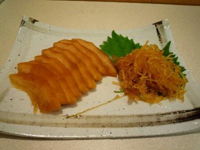 なますかぼちゃの味噌漬