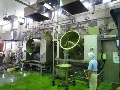 調理味噌の機械