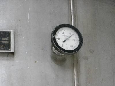 釜の温度計