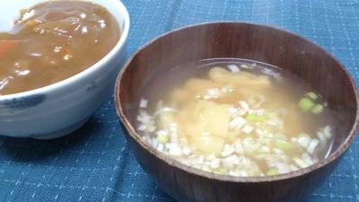 カレー 味噌汁