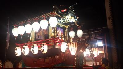 直江津祇園祭 おせん米奉納