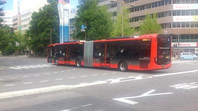 新潟市BRT連節バス「ツインくる」
