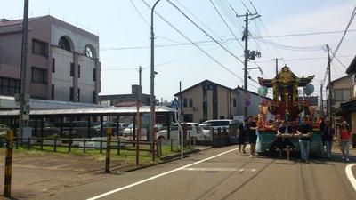 四ッ屋の屋台 直江津祇園祭