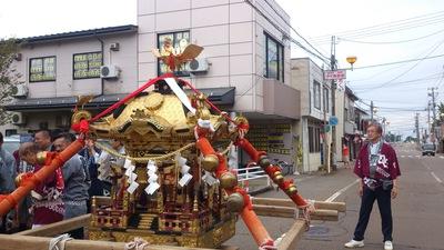 直江津祇園祭町内御輿