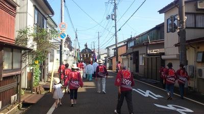 直江津八坂神社秋祭り
