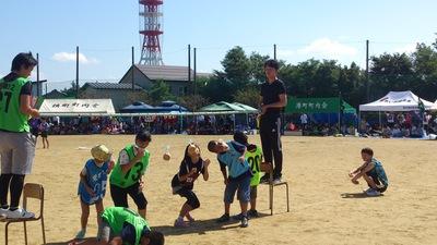 直江津地区市民体育祭 パン食い競争
