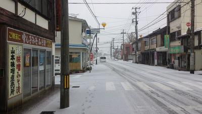 直江津初雪