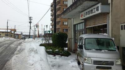 雪 直江津