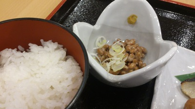 納豆ご飯 水戸