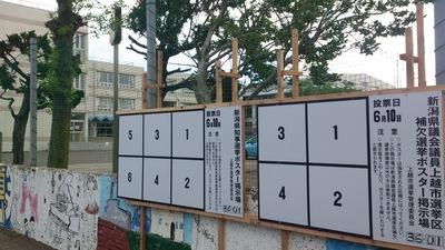 新潟県知事選挙 補欠選挙
