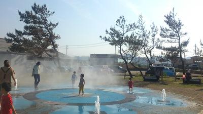 タコ公園 噴水
