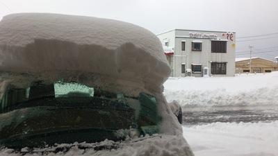 直江津 雪