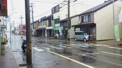 直江津 雨