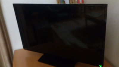 テレビ壊れた