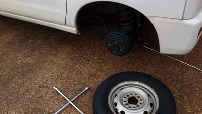 タイヤ交換