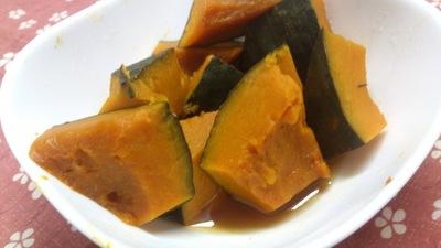 冬至 かぼちゃの煮物