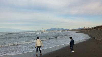 日本海 雪がない