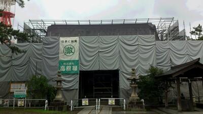 今朝の八坂神社