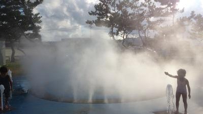 タコ公園噴水