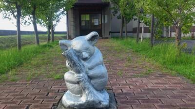 コアラの像
