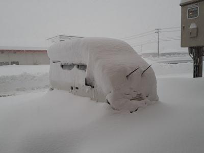 直江津大雪