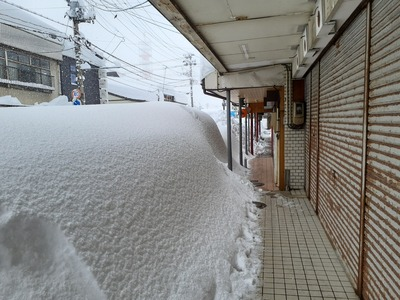 直江津 大雪