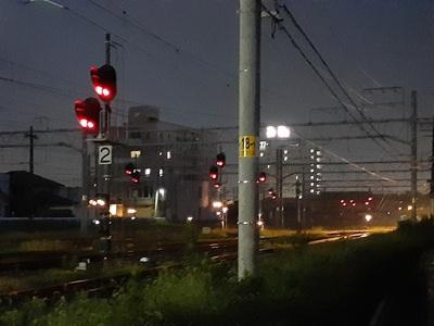 線路の信号